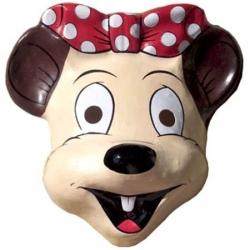 Masque souris prÉtentieuse plastique
