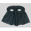 Máscara com véu em tecido