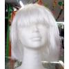 Wig with medium lenght mane white