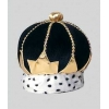 Royal crown decorated