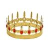 Metal medium size gemstones crown