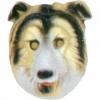 Collie hund kindermaske