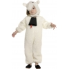 Sheep kids costume