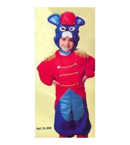 Disfraz raton botones infantil