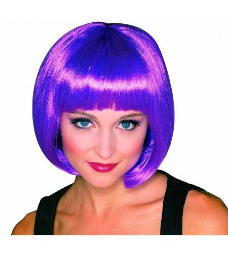 Pageboy broadway wig violet