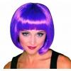 Pagenschnitt violett perücke
