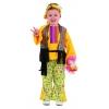 Hippie girl infant costume