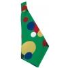 Clown kids tie fabric
