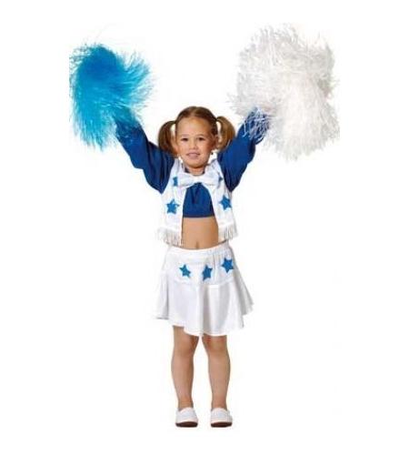 Disfraz cheerleader animadora infantil