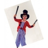 Clown kids costume with top hat