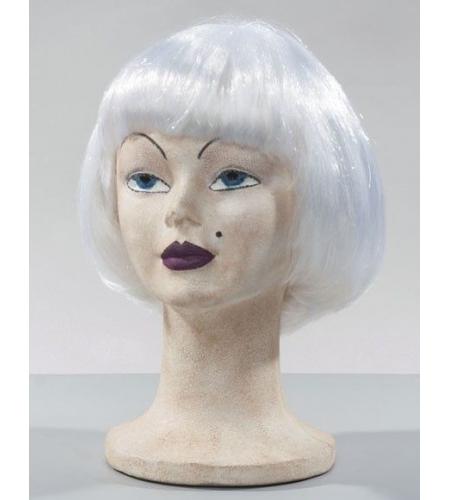 Lulu peruca branca