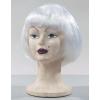 Lulu pageboy white wig
