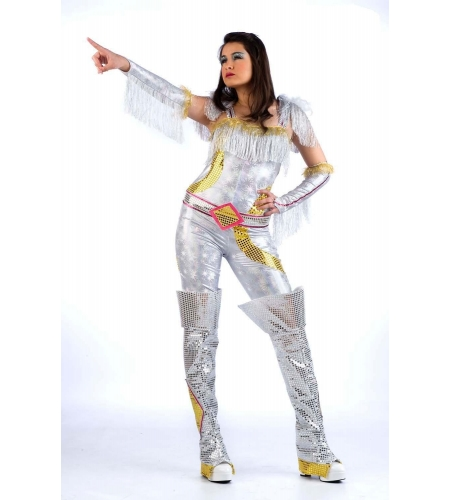 Musical star costume donna