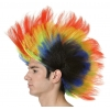 Perruque crÊte multicolore