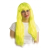 Long hair techno wig