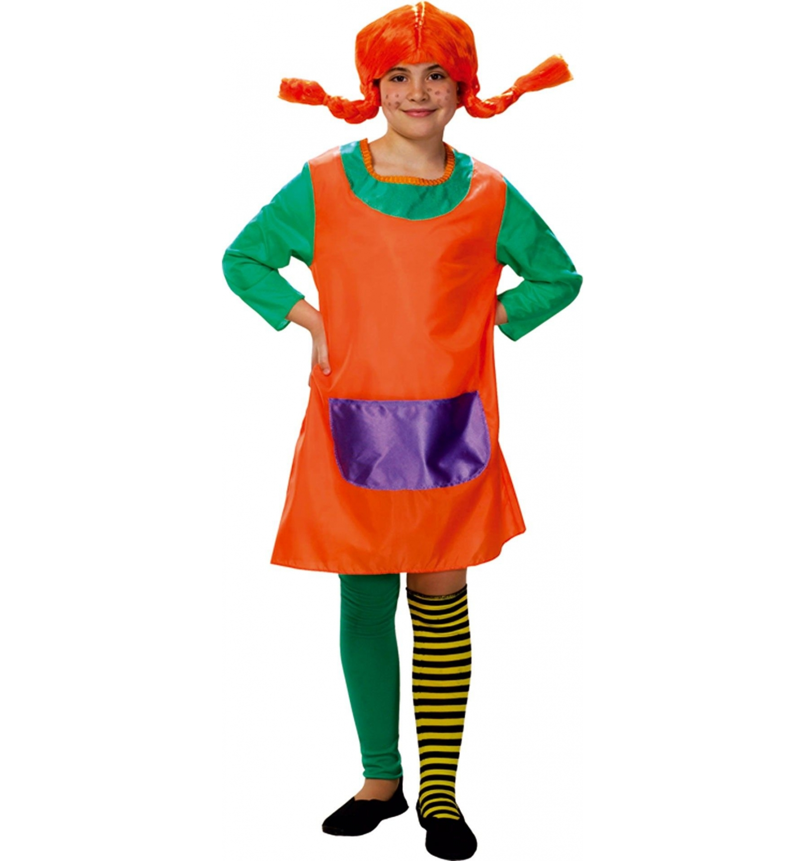 pippi langstrumpf madchen kostum