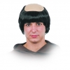 Monk wig with bald patch