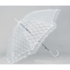 Lace umbrella with white lacework