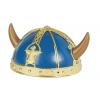 Casque viking bleu