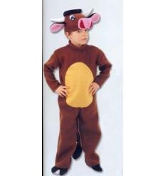 Ox mascot kids costume
