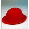 Bowler flocking hat