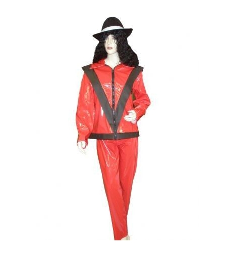 Rock star red costume
