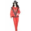 Rock star Kostüm rot