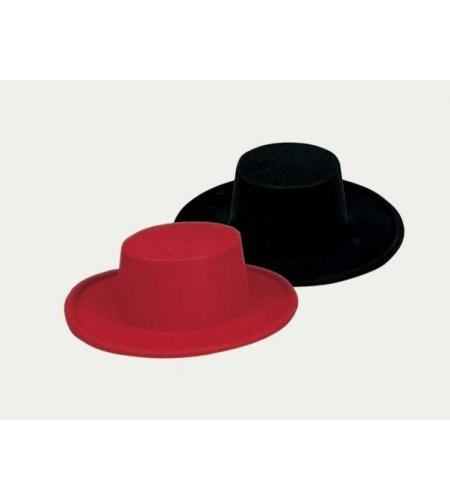 Flamenco dancer flocking hat