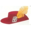 Musketeer kids hat