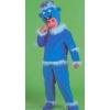 Doll blue children s costume