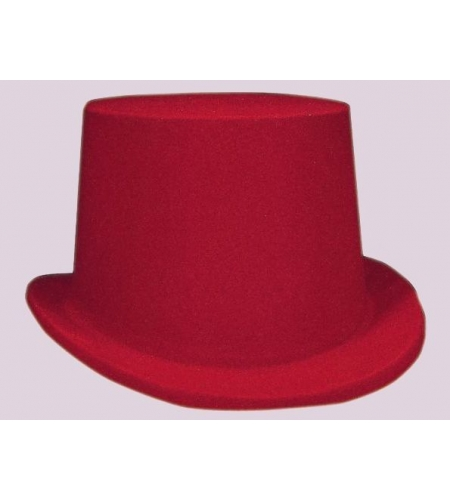 Top kids hat red and black