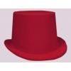 Chapeau haut de forme enfant rouge et noir