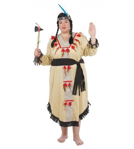 Indianerin XXL Kost