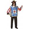 Musketeer man costume