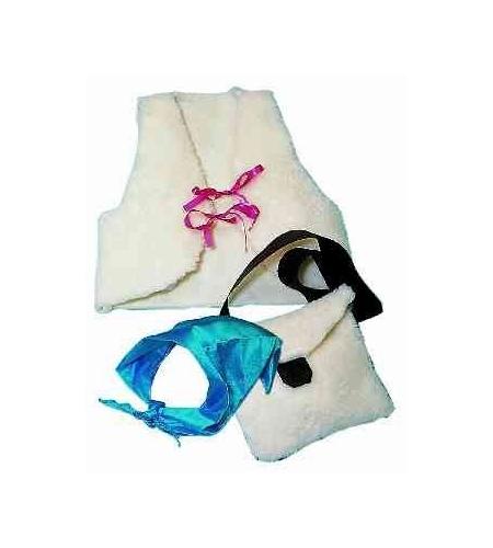 Nouveauté Verre Babiole-Metallic pâle bleu turquoise requin avec bonnet de Père Noël /& Cadeau