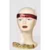 Stirnband mit pailletten und feder