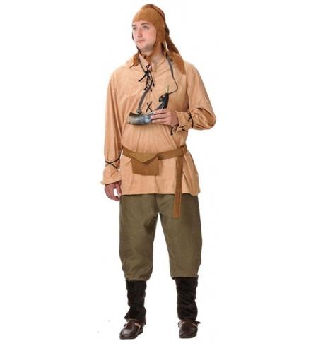 Peasant medieval man costume