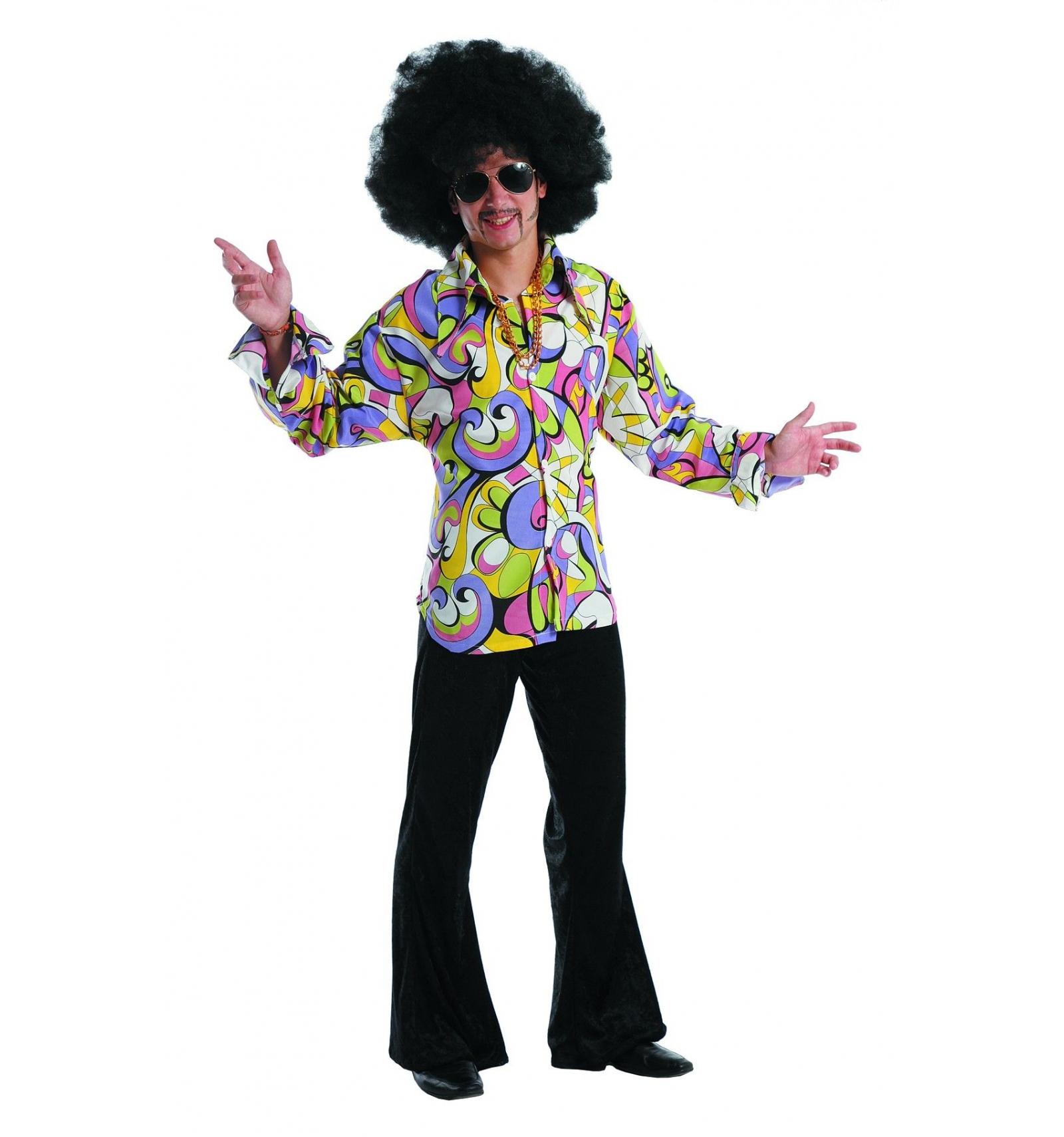 d guisement hippie ann es 70 homme t xxl votre magasin de costumes en ligne. Black Bedroom Furniture Sets. Home Design Ideas