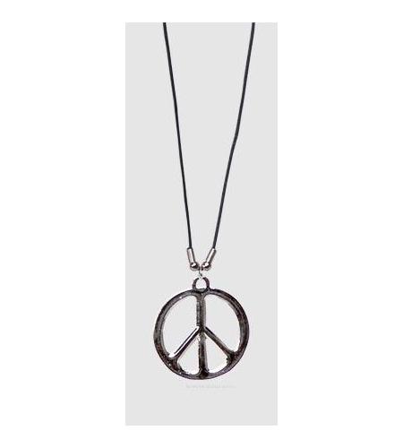 Colar hippie peace