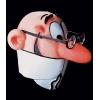Máscara de mortadela