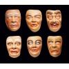 Máscaras em borracha