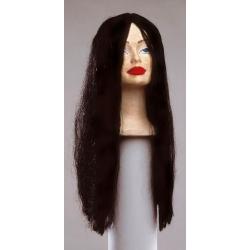 Smooth long hair wig