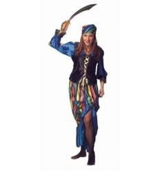 Fato de pirata ou córsaria mulher
