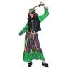 DÉguisement pirate boucanier vert fille. taille 6