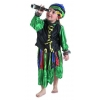 Buccaneer girl costume blue