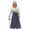 Fato de rainha medieval tarnia menina