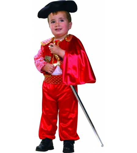 Torero infant costume