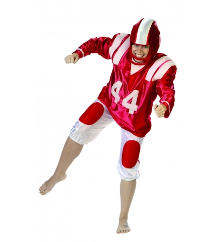 American football player man costume
