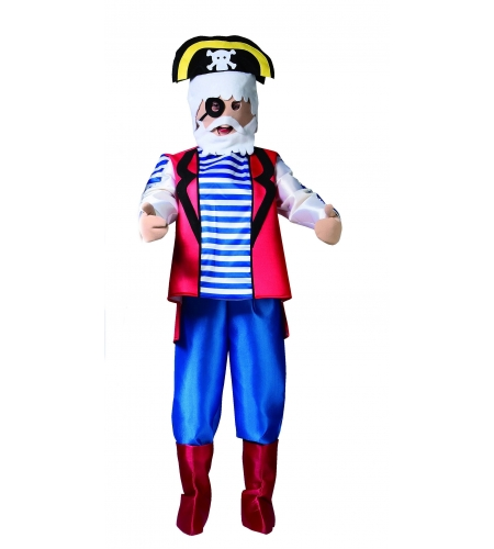 Pirate puppet adult costume
