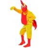 Chicken kids mascot yellow costume